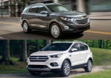 Ford Escape VS Chevrolet Equinox Puerto Rico