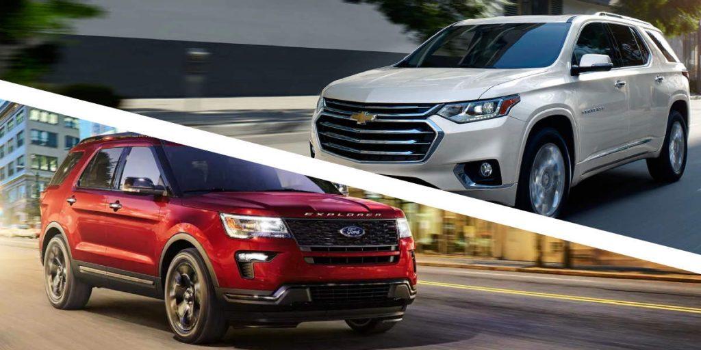 Chevrolet Traverse 2019 vs Ford Explorer 2019 Puerto Rico