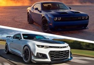 Chevrolet Camaro ZL1 2019 vs Dodge Challenger Hellcat comparativa Puerto Rico