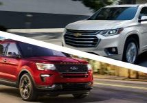 Chevrolet Traverse 2019 vs Ford Explorer 2019 Puerto Rico