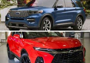 chevrolet blazer 2019 VS Ford Explorer en Puerto Rico
